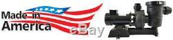 0.5HP SunRay Solar Swimming Pool Pump DC Motor Variable 2 330w 72v Panels Pond