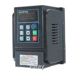 0.75-4KW Variable Frequency Drive Inverter VFD CNC Motor Speed Single To 3 Phase