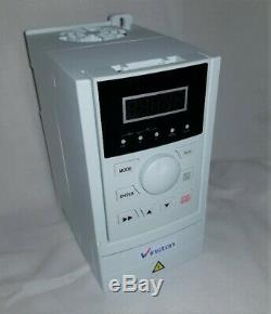 0.75kw 1HP IP20 single Phase 240V AC Motor Inverter Variable Speed Drive, New