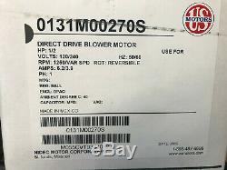 0131M00270S Goodman Amana 1/2 HP Variable Speed Blower Motor NEW OEM