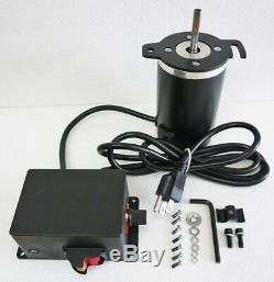 1/2 HP Electronic Variable Speed Drive Motor & Control System 1480-5400 RPM New