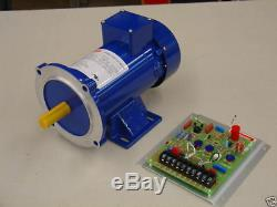 1/4 HP, 180 VDC, DC Motor and Variable Speed Control