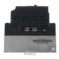 1.5KW 220V Single To 3 Phase VFD Variable Frequency Inverter Motor Speed Drive C