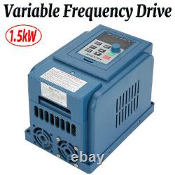 1.5KW 380V 3 phase Variable Frequency Drive VFD Speed Controller AC Motor