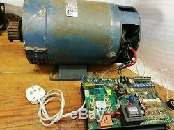 1.5KW DC SHUNT MOTOR 3000rpm + Variable Speed Control Unit 240v Lathe Project