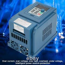 1.5kW 4A Variable Frequency VFD 3 Phase Speed Controller Inverter Motor Drive