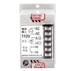 10XAc 110V 400W Knob Motor Speed Controller Dc 0-90V Variable Adjust Lathe