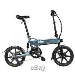 16'' E-bike Folding Electric Bike 250W Motor 7.8Ah Li-ion Battery Variable Speed