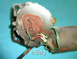 1967 Mopar A Or B-body Variable Speed Wiper Motor, Stamped #2822931, Works, Vgc