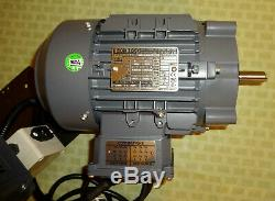 2 HP Motor and Variable Speed Control Kit with Forward & Reverse-110V Input. New