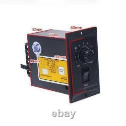 220V 110 Gear Reducer Motor Variable speed reversible motor + Governor 60W