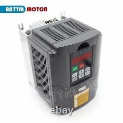 220V 3KW Inverter VFD Variable Frequency Drive 4HP Motor Speed ControllerUK-EU