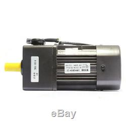 220V 40W AC gear motor electric motor variable speed controller 110K 135RPM