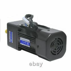 220V 60W AC Gear Reducer Motor Variable Speed Reversible Motor + Governor 110
