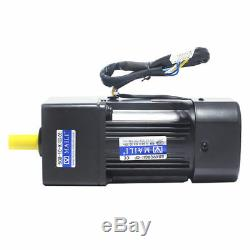 220V 60W AC Gear Reducer Motor Variable Speed Reversible Motor with Governor 110