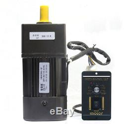220V 90W AC gear motor electric motor with variable speed controller 13/10/15K