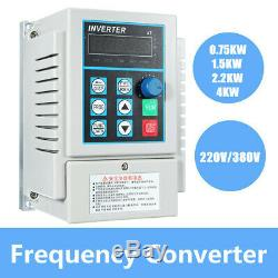 220V AC Variable Frequency Drive Inverter Single To 3-Phase CNC Motor Speed