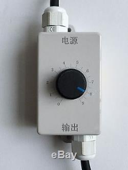 230V Vibration Motor 60W variable speed for vibrating concrete, moulds, hoppers
