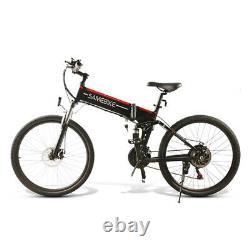 26 SAMEBIKE Electric Bicycle 500W Motor Variable Speed LCD Meter 10AH Battery
