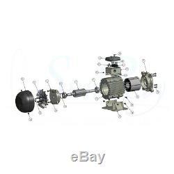 3.5HP SunRay Solar Swimming Pool Pump DC Brushless Motor Inground 240v USA Pond