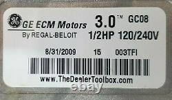 355CAV042080FASA 5SME39HXL3006A HD44RE122 Payne Furnace OEM 3 ECM blower motor