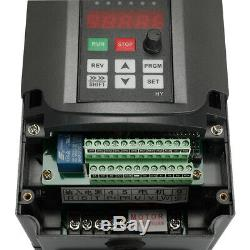 4KW 220V 5HP Variable Frequency Inverter VFD For Spindle Motor Speed Control