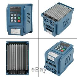 4KW 380V VFD Variable Frequency Drive Inverter AC Motor Speed Control 3-phase UK