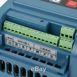 4KW 380V Variable Frequency Drive VFD Inverter AC Speed Controller Motor 3-phase