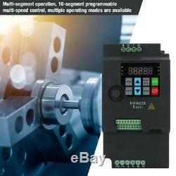 4kw AC 380V 3 Phase Variable Speed Drive Universal Motor Frequency Converter