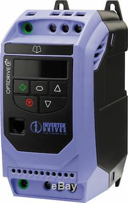 5.5kw 7.5 HP IP20 Three Phase AC Inverter Variable Speed Drive, Motor Controller