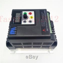 5.5kw 7.5HP 380V VFD 3 Phase Motor Speed Control 12.6A Variable Frequency Drive