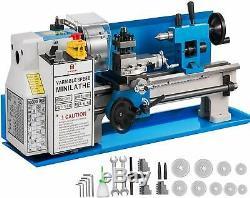 550W Motorized Mini Metal Lathe Metalworking Variable Speed Spindle DC Motor