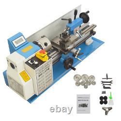 7x14 Mini Metal Lathe 7.5W Machine Variable Speed 0-2250 RPM Brushless motor