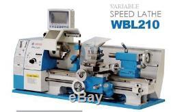 8x16 Mini Lathe Variable Speed Brushless Motor 3/4HP NEW