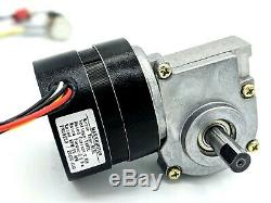 AC 110-220v Variable Adjustable Speed 25 RPM Brushless DC Dual-Shaft Gear Motor