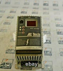 AC Tech SF405 VARIABLE SPEED AC MOTOR DRIVE (1-yr Warranty)