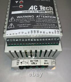 AC Tech SF405p Variable Speed AC Motor Drive 0.5 HP, 480V, 3 Phase
