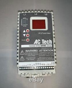 AC Tech SF410 Variable Speed AC Motor Drive 1 HP, 480V, 3 Phase
