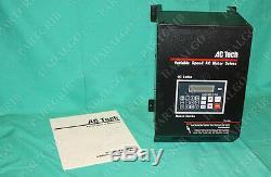 AC Tech Variable Speed AC Motor Drive Q14015B 15hp QC Series lenze technology