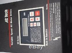 AC Tech Variable Speed AC Motor Drive Q32002B-950 48537-612