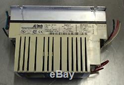 AC Tech Variable Speed AC Motor Drive SF410 1HP. 75KW 3PH 50/60HZ Used CUT OUT