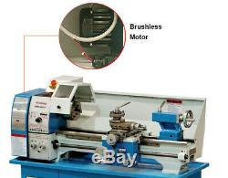 AMABL250AVF-750 Lathe (10x22) Variable Speed Power Crossfeed Brushless Motor