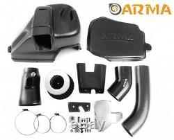 ARMA Carbon-Matt Airbox Air-Intake-Kit BMW 3-er F30 335i N55B30-Motor