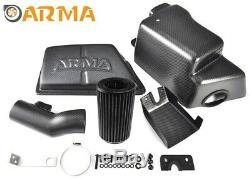 ARMA Carbon-Matt Airbox Air-Intake-Kit für BMW 1er F20 116i, 118i N13B16-Motor