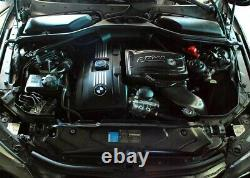 ARMA Carbon-Matt Airbox Air-Intake-Kit für BMW 5-er E60 E61 535i N54B30-Motor