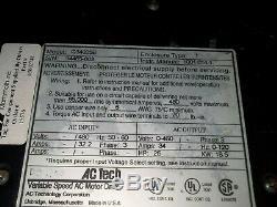 Ac Tech Variable Speed Ac Motor Drive 25 HP Qc Series Q34025b Vfd Vsd (6)