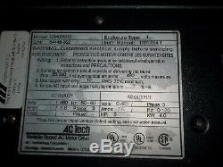 Ac Tech Variable Speed Ac Motor Drive 5hp Qc Series Q34005hb Vfd Vsd (95)