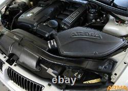 Arma Carbon Matte Airbox Air Intake Kit For BMW 3-er E90 325i N52-Motor