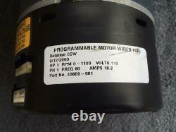 Armstrong 45609-001 1 HP Variable Speed Blower Motor G. E 5SME39SL0253