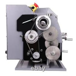Automatic Mini Metal Lathe Variable-Speed DC Motor 750w 8x16